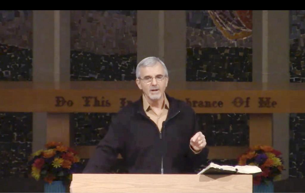 Mike sermon pic